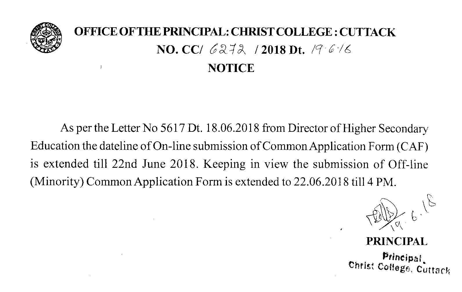 christ university result